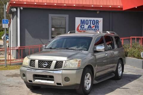 2006 Nissan Armada for sale at Motor Car Concepts II - Kirkman Location in Orlando FL