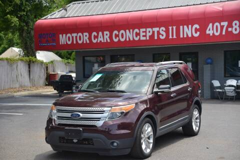 2011 Ford Explorer for sale at Motor Car Concepts II - Apopka Location in Apopka FL