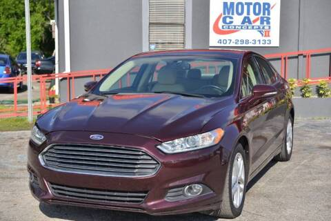 2013 Ford Fusion for sale at Motor Car Concepts II - Apopka Location in Apopka FL