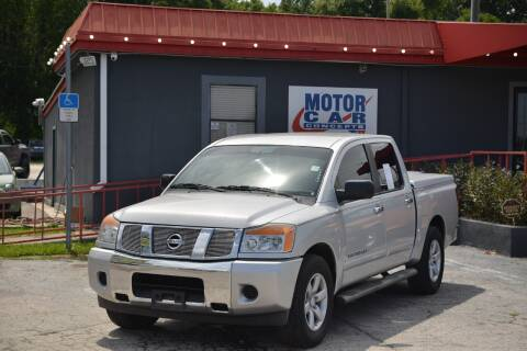 2013 Nissan Titan for sale at Motor Car Concepts II - Kirkman Location in Orlando FL