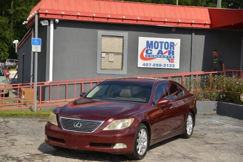 2008 Lexus LS 460 for sale at Motor Car Concepts II - Kirkman Location in Orlando FL
