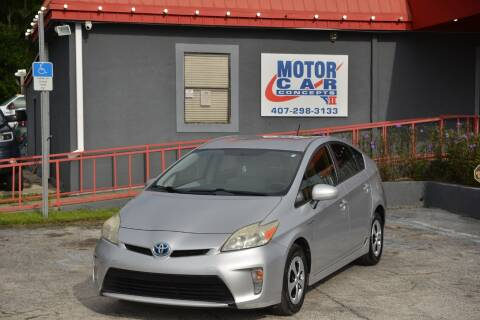 2012 Toyota Prius for sale at Motor Car Concepts II - Kirkman Location in Orlando FL