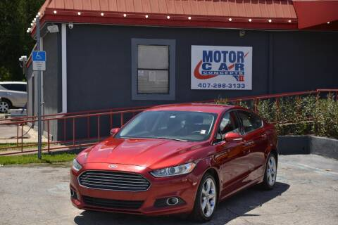 2014 Ford Fusion for sale at Motor Car Concepts II - Kirkman Location in Orlando FL