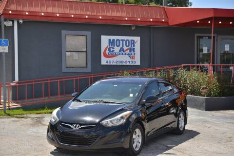 2014 Hyundai Elantra for sale at Motor Car Concepts II - Kirkman Location in Orlando FL