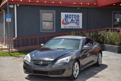 2012 Hyundai Genesis Coupe for sale at Motor Car Concepts II in Orlando FL