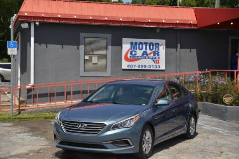 2016 Hyundai Sonata for sale at Motor Car Concepts II - Kirkman Location in Orlando FL