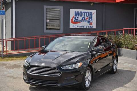 2016 Ford Fusion for sale at Motor Car Concepts II - Kirkman Location in Orlando FL