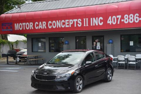 2018 Kia Forte for sale at Motor Car Concepts II - Apopka Location in Apopka FL
