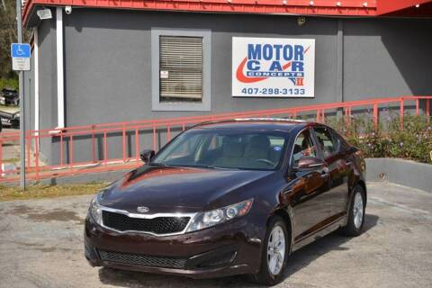 2011 Kia Optima for sale at Motor Car Concepts II - Kirkman Location in Orlando FL