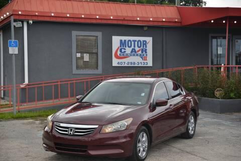 2012 Honda Accord for sale at Motor Car Concepts II - Kirkman Location in Orlando FL