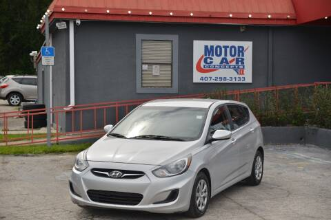 2014 Hyundai Accent for sale at Motor Car Concepts II - Kirkman Location in Orlando FL