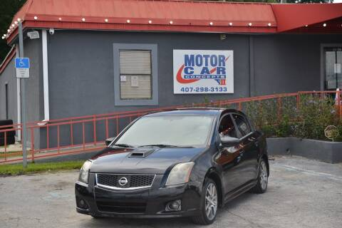 2007 Nissan Sentra for sale at Motor Car Concepts II - Kirkman Location in Orlando FL
