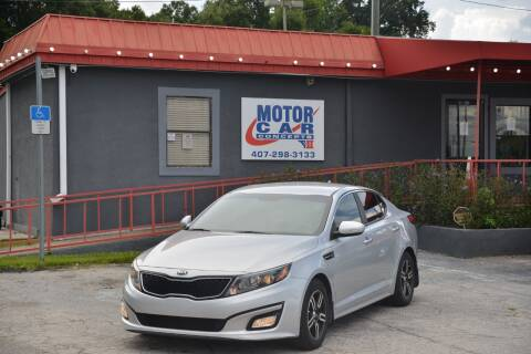 2014 Kia Optima for sale at Motor Car Concepts II - Kirkman Location in Orlando FL