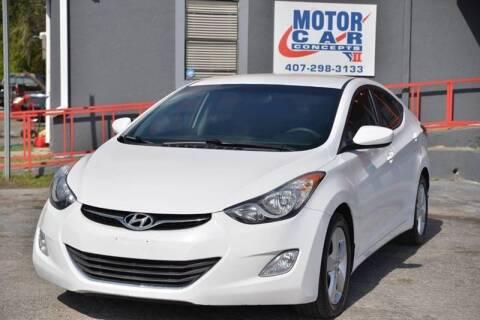 2013 Hyundai Elantra for sale at Motor Car Concepts II - Kirkman Location in Orlando FL
