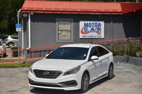 2015 Hyundai Sonata for sale at Motor Car Concepts II - Kirkman Location in Orlando FL
