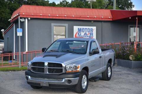 2006 Dodge Ram Pickup 1500 for sale at Motor Car Concepts II - Kirkman Location in Orlando FL