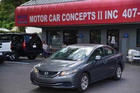 2013 Honda Civic for sale at Motor Car Concepts II - Apopka Location in Apopka FL