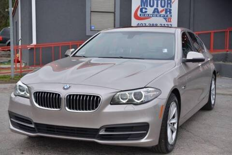 2014 BMW 5 Series for sale at Motor Car Concepts II - Apopka Location in Apopka FL