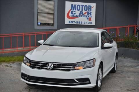 2018 Volkswagen Passat for sale at Motor Car Concepts II - Apopka Location in Apopka FL