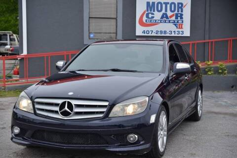 2009 Mercedes-Benz C-Class for sale at Motor Car Concepts II - Apopka Location in Apopka FL