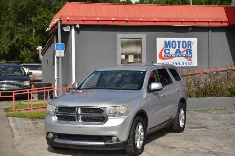 2012 Dodge Durango for sale at Motor Car Concepts II - Kirkman Location in Orlando FL