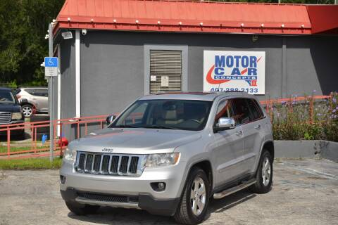 2011 Jeep Grand Cherokee for sale at Motor Car Concepts II - Kirkman Location in Orlando FL