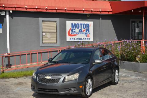 2013 Chevrolet Cruze for sale at Motor Car Concepts II - Kirkman Location in Orlando FL