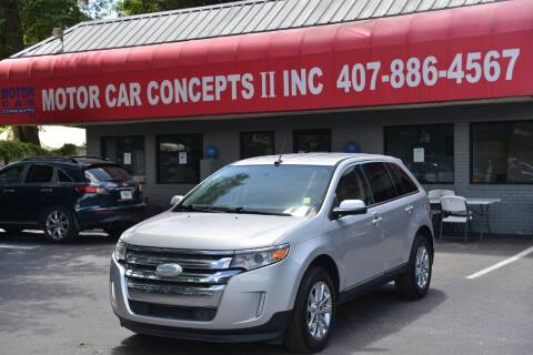 2014 Ford Edge for sale at Motor Car Concepts II - Apopka Location in Apopka FL