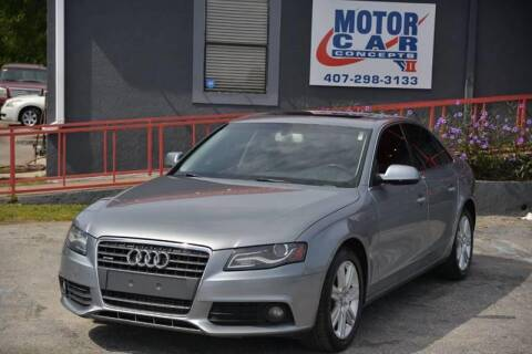 2011 Audi A4 for sale at Motor Car Concepts II - Kirkman Location in Orlando FL