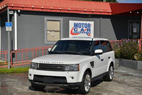 2011 Land Rover Range Rover Sport for sale at Motor Car Concepts II - Kirkman Location in Orlando FL