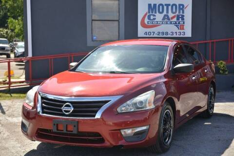 2013 Nissan Altima for sale at Motor Car Concepts II in Orlando FL