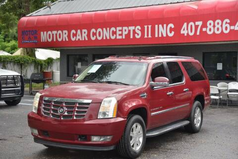 2007 Cadillac Escalade ESV for sale at Motor Car Concepts II - Apopka Location in Apopka FL