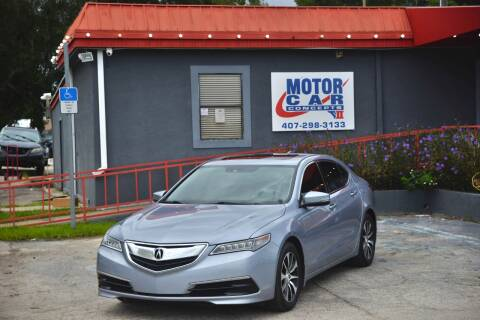 2016 Acura TLX for sale at Motor Car Concepts II - Kirkman Location in Orlando FL