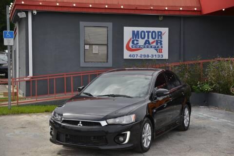 2016 Mitsubishi Lancer for sale at Motor Car Concepts II - Kirkman Location in Orlando FL