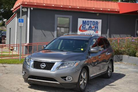 2015 Nissan Pathfinder for sale at Motor Car Concepts II - Kirkman Location in Orlando FL