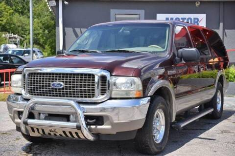 2001 Ford Excursion for sale at Motor Car Concepts II - Apopka Location in Apopka FL