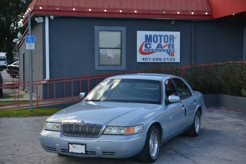2002 Mercury Grand Marquis for sale at Motor Car Concepts II - Kirkman Location in Orlando FL