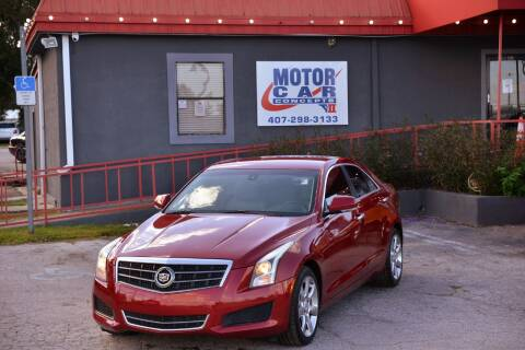 2013 Cadillac ATS for sale at Motor Car Concepts II - Kirkman Location in Orlando FL