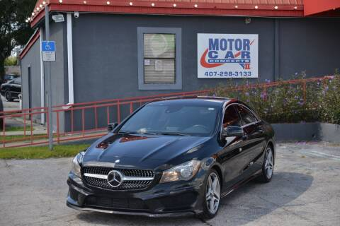 2014 Mercedes-Benz CLA for sale at Motor Car Concepts II - Kirkman Location in Orlando FL