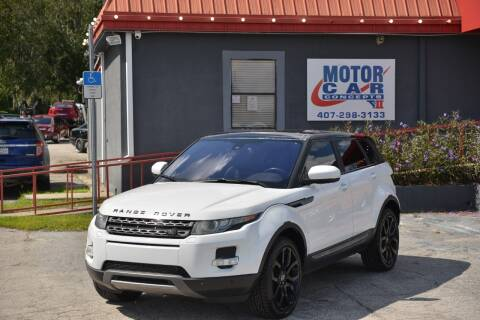 2013 Land Rover Range Rover Evoque for sale at Motor Car Concepts II - Kirkman Location in Orlando FL