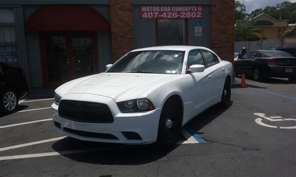 2012 dodge charger police 4dr sedan in orlando fl motor