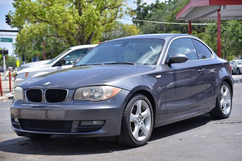 2008 Bmw 1 Series 128i 2dr Coupe In Orlando FL - Motor Car Concepts ...