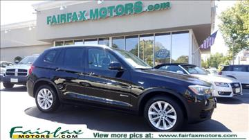 2015 BMW X3 for sale in Fairfax, VA