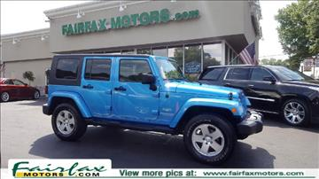 2010 Jeep Wrangler Unlimited for sale in Fairfax, VA