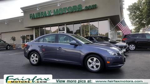 2014 Chevrolet Cruze for sale in Fairfax, VA