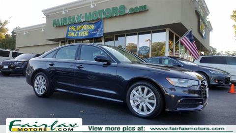 2015 Audi A6 for sale in Fairfax, VA
