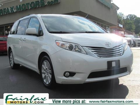 2011 Toyota Sienna for sale in Fairfax, VA