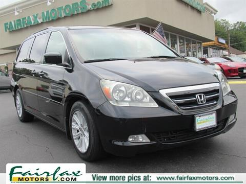 2006 Honda Odyssey for sale in Fairfax, VA