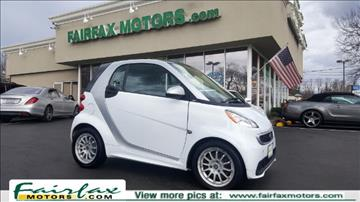 2013 Smart fortwo for sale in Fairfax, VA