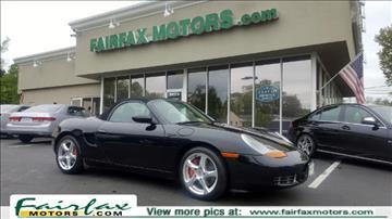 2002 Porsche Boxster for sale in Fairfax, VA
